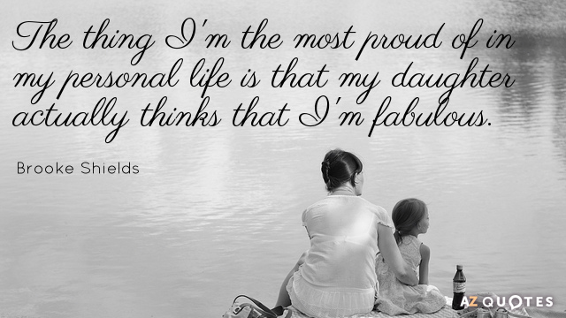 Love Quotes For Daughters Beauteous Top 25 My Daughter Quotes Of 990 Az  Quotes