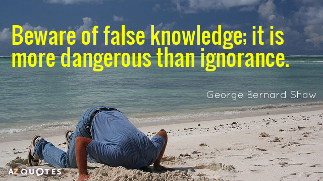 Top 25 Little Knowledge Quotes Of 56 A Z Quotes
