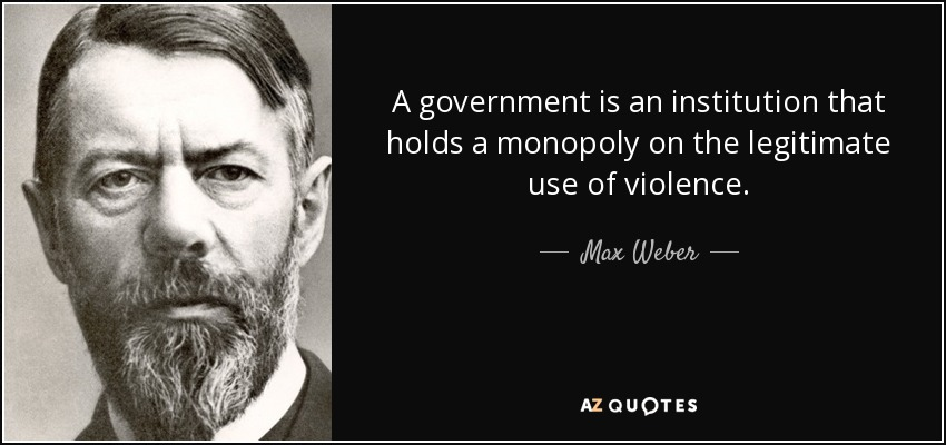 Image result for monopoly of violence