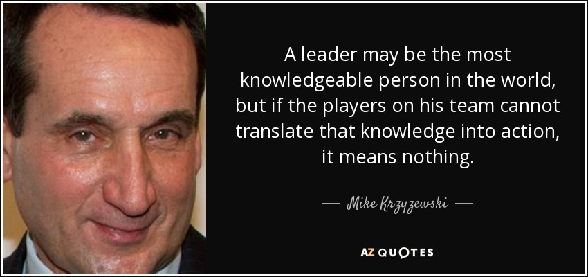 a knowledgeable person