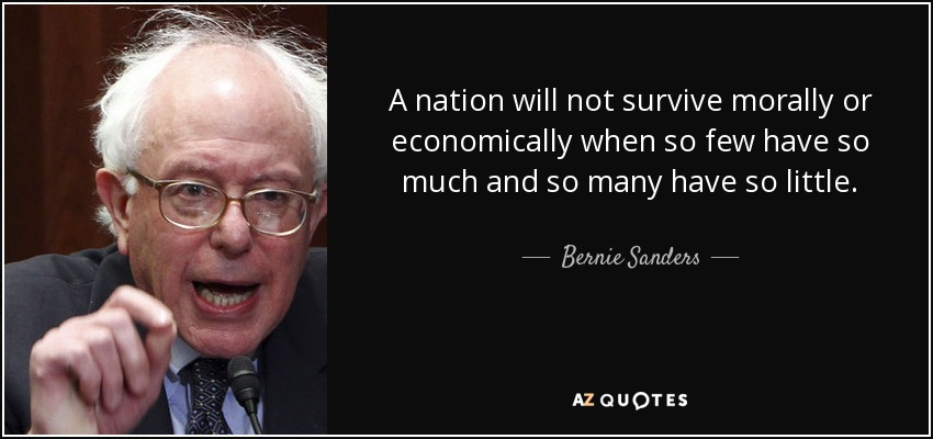 Bernie Sanders Quotes Endearing Top 25 Quotesbernie Sanders Of 686  Az Quotes