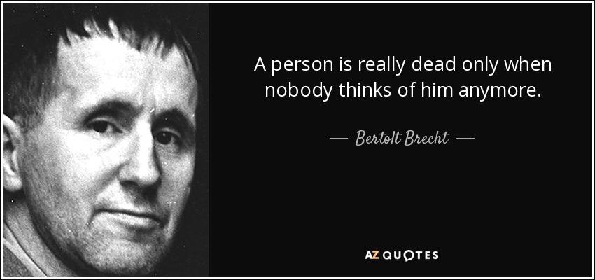 war has been given a bad name bertolt brecht Selections on war ==== bertolt brecht german miserere bertolt brecht: selections on war ==== the bread of the hungry has all been eaten.