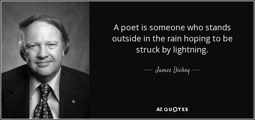 james dickey all american poet essay James dickey: deep deliverance a for me it's the essential book by a post-wwii american poet this is an interesting essay by john yohe comparing james.