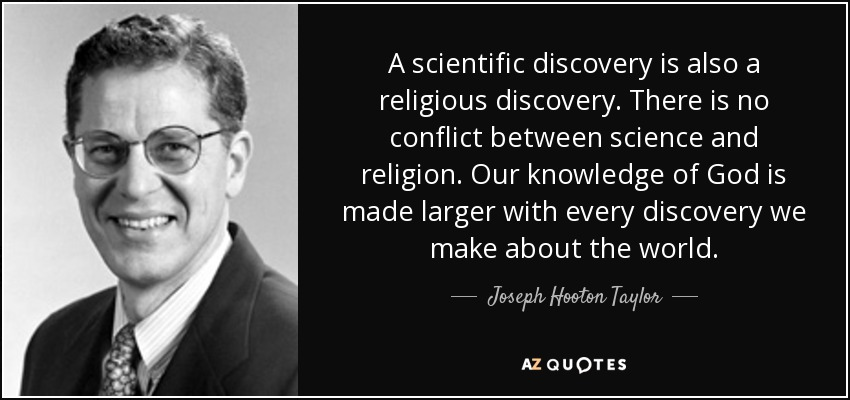 Quotes By Joseph Hooton Taylor Jr A Z Quotes