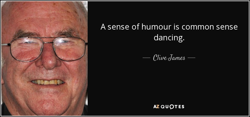Clive James humour