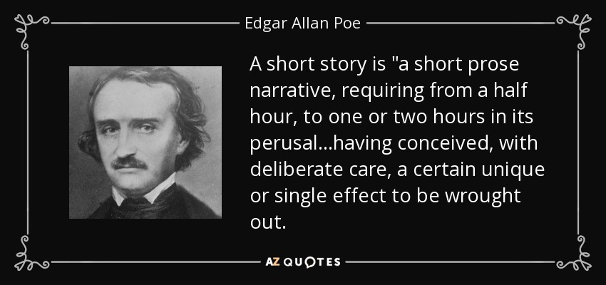 A short story is