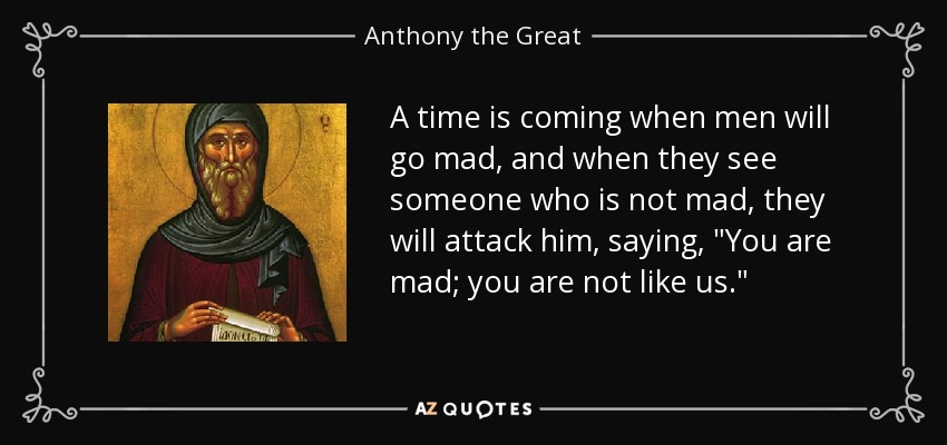 Image result for st anthony the great quotes