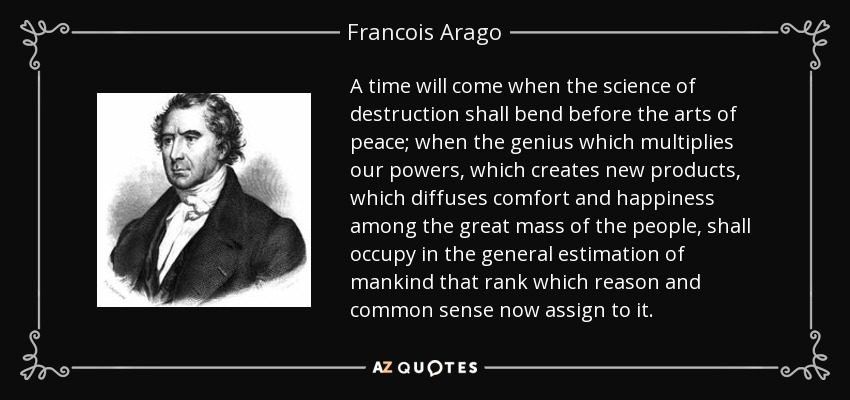 TOP 11 QUOTES BY FRANCOIS ARAG...