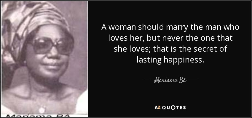 Image result for Mariama Ba