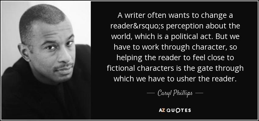 """Essay om """"A New World Order"""" af Caryl Phillips"""