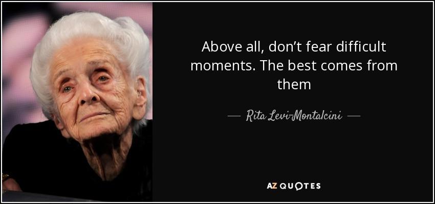 Cartolina con aforisma di Rita Levi Montalcini (6)   Rita ...
