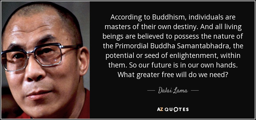 Image result for dalai lama quotes destiny