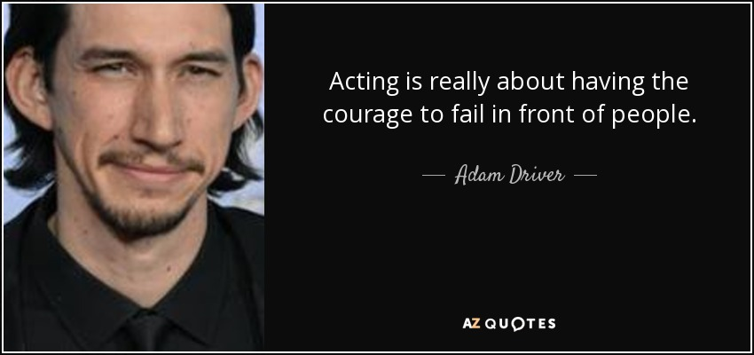 TOP 25 QUOTES BY ADAM DRIVER | A-Z Quotes