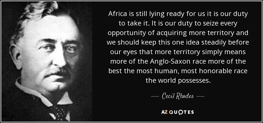 Top 20 Quotes By Cecil Rhodes A Z Quotes