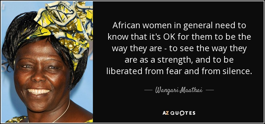 TOP 60 AFRICAN WOMEN QUOTES AZ Quotes Gorgeous African Quotes