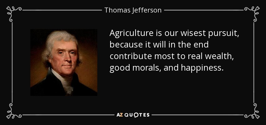the commitment and great morals of thomas jefferson Thomas jefferson owned hundreds of slaves  the future of our country will  depend on your continued commitment to participate in public.
