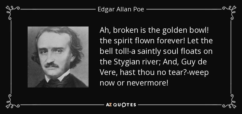 broken is the golden bowl