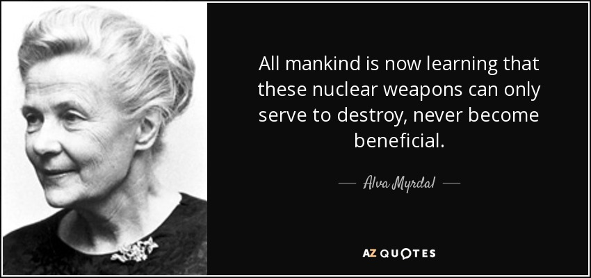 should nuclear weapons be destroyed Ban nuclear weapons saving money and saving the world by alan robock 140 what level of devastation constitutes effective deterrence -- one city destroyed ten one answer is clear: there are too many nuclear weapons in the world.