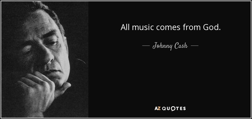 All Music Comes From God