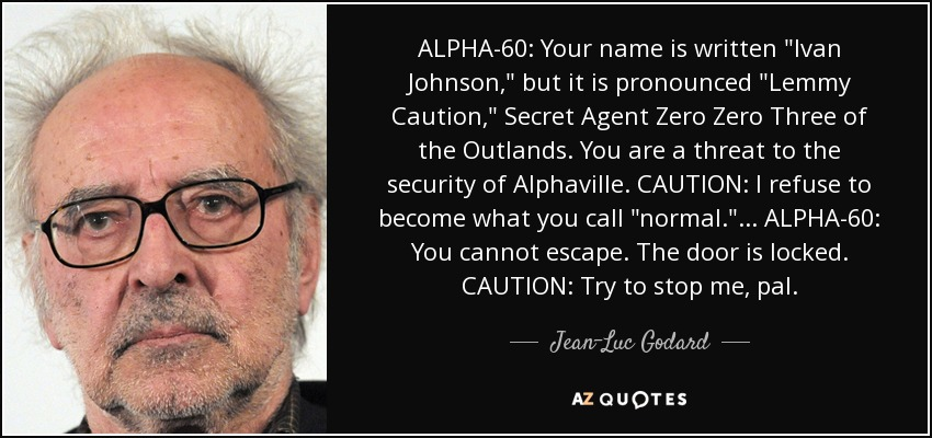 ALPHA-60: Your name is written