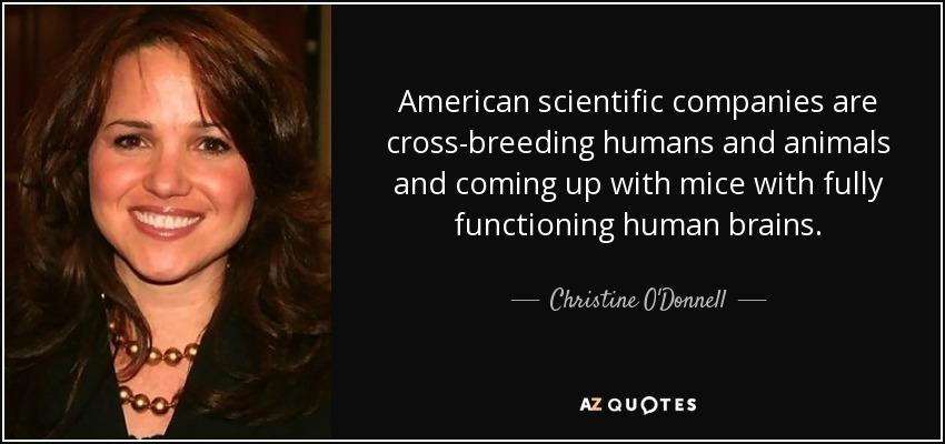 christine odonnell quote american scientific companies