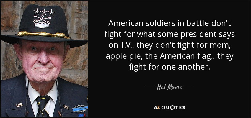 Top 7 quotes by hal moore a z quotes hal moore quotes thecheapjerseys Image collections