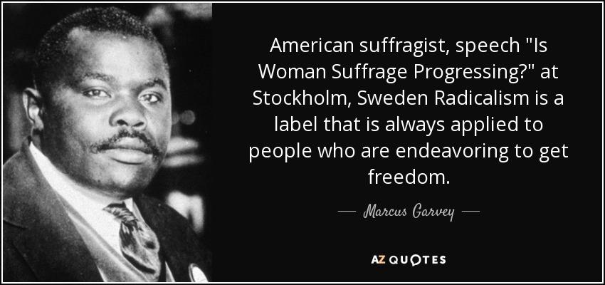 woman suffrage speech