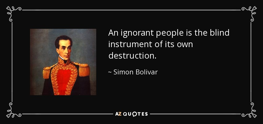 Top 25 Quotes By Simon Bolivar A Z Quotes