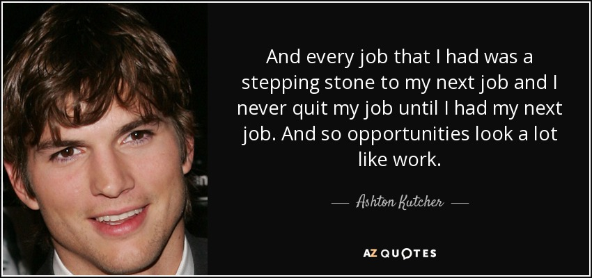 Image result for jobs as stepping stones