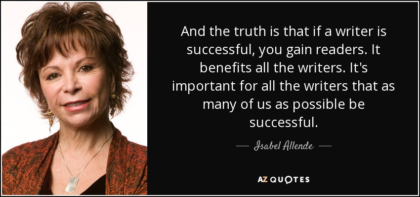 Isabel allende writing