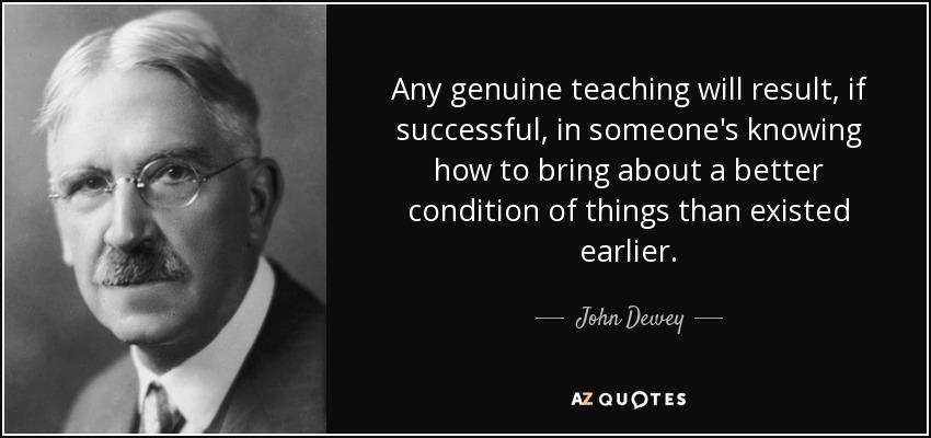 john dewey on education This article looks at the educational philosophy of john dewey.