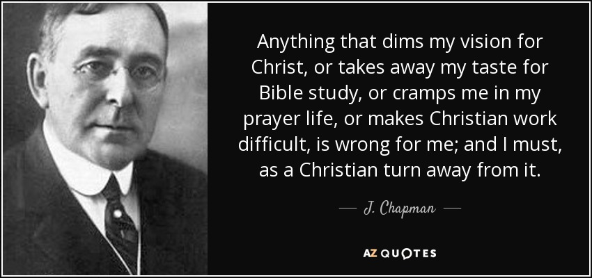 My life as a Christian