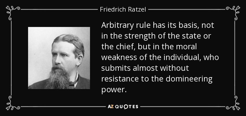 Quotes By Friedrich Ratzel A Z Quotes