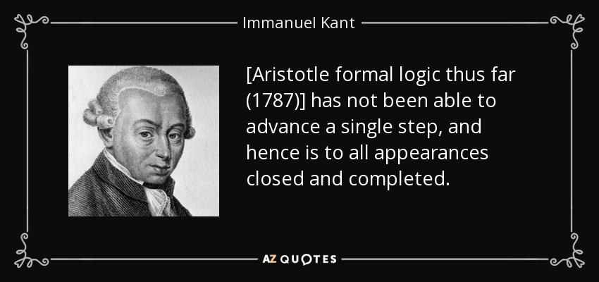 kant vs aristotle essay In this essay i evaluate the contemporary international order in light of political  thought, specifically with reference to machiavelli, kant, and aristotle.