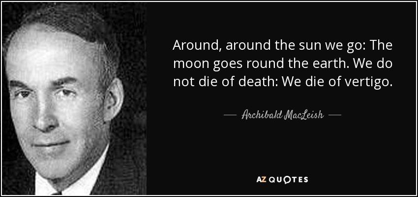 Archibald MacLeish moon