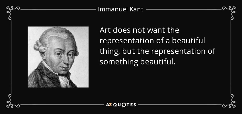 Immanuel Kant Art Quotes