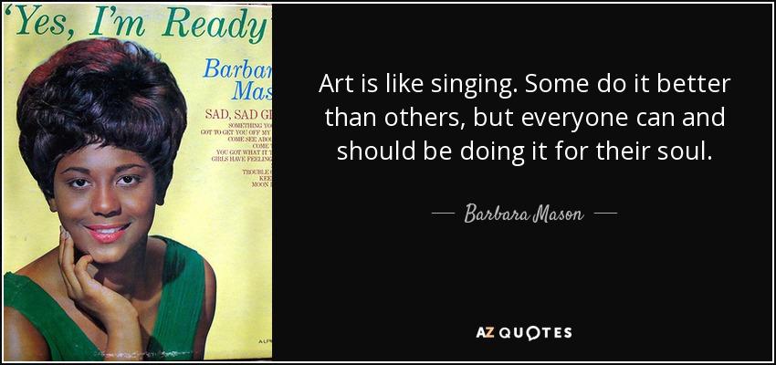 QUOTES BY BARBARA MASON AZ Quotes Cool Mason Quotes