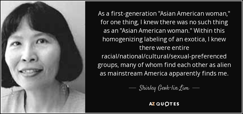 interviewing a 1st generation asian american What are some of the biggest differences between second generation asian american beyond interviewing asian the second generation of apas asian.