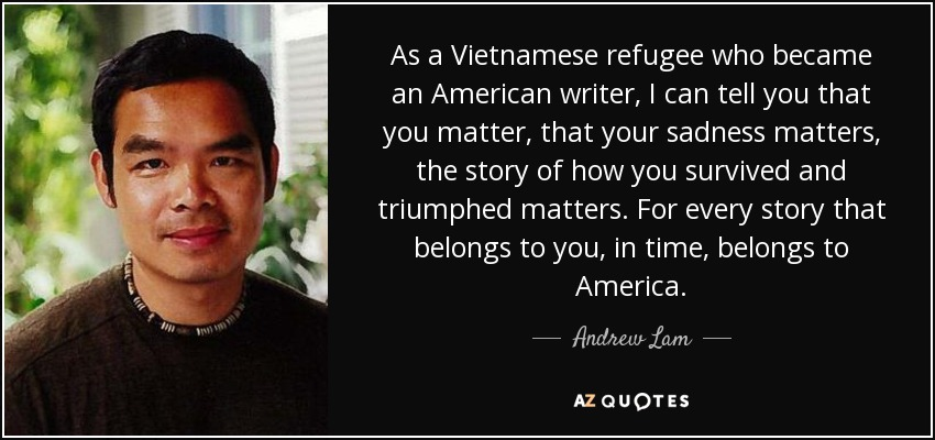 Refugee Quotes Delectable Top 5 Vietnamese Refugees Quotes  Az Quotes