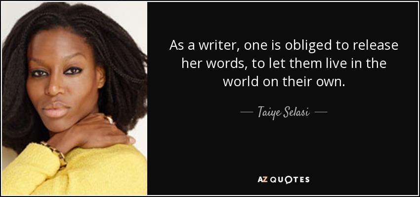 Taiye selasi essay outline