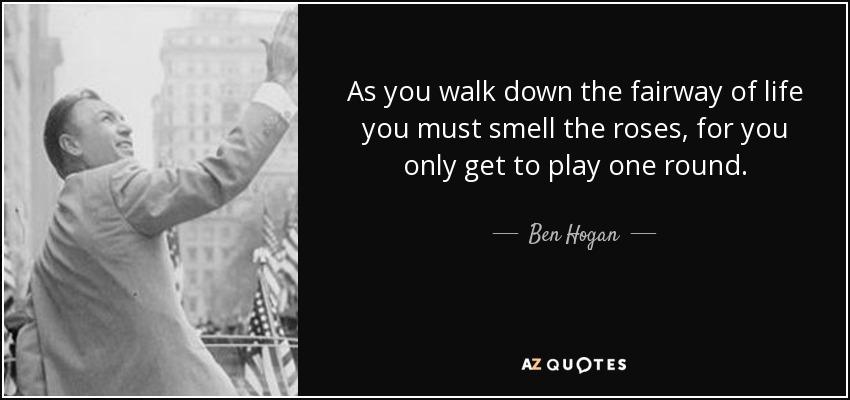 TOP 25 QUOTES BY BEN HOGAN (of 60)