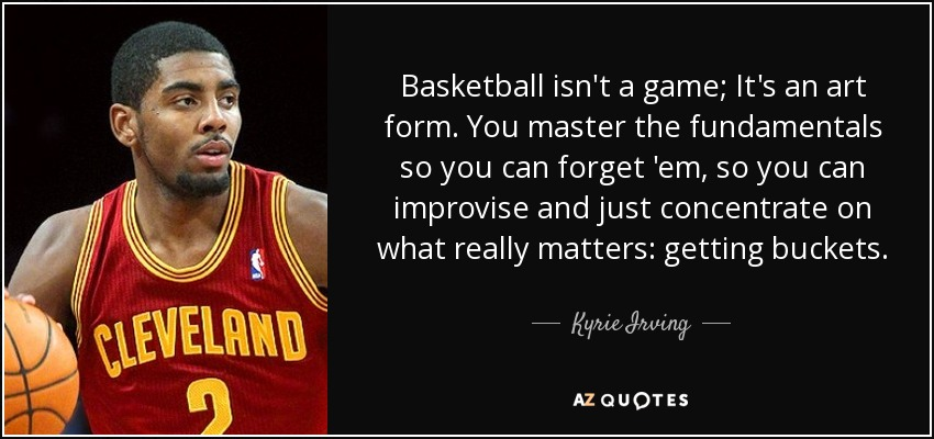 TOP 6 QUOTES BY KYRIE IRVING | A-Z Quotes