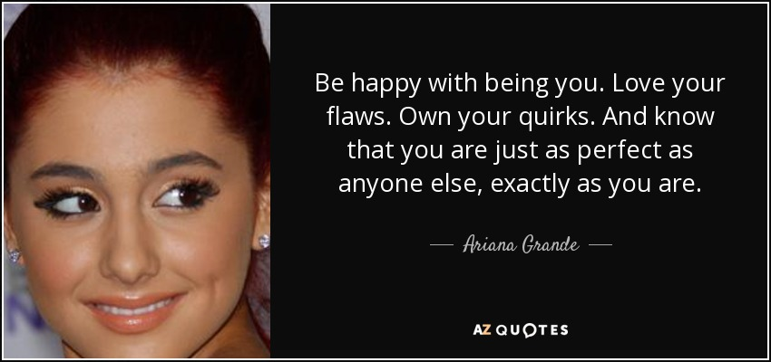 TOP 25 QUOTES BY ARIANA GRANDE (of 94) | A-Z Quotes