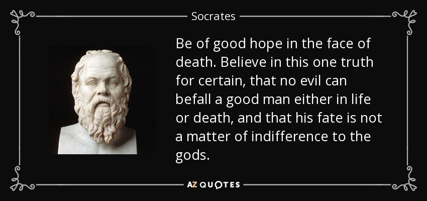 the life beliefs and death of socrates in his literary works Every major philosophical school mentioned by ancient writers following socrates' death was founded by one of his of his life, teachings, and death works of.