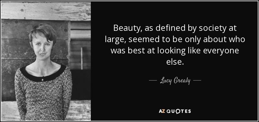 beauty in society