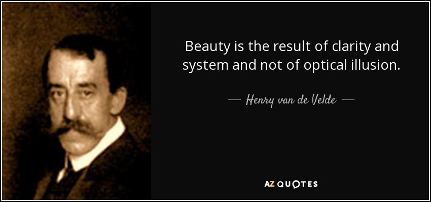 Henry V Quotes About Love : QUOTES BY HENRY VAN DE VELDE A-Z Quotes
