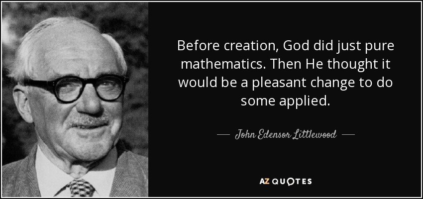 Top 25 Quotes By John Edensor Littlewood A Z Quotes