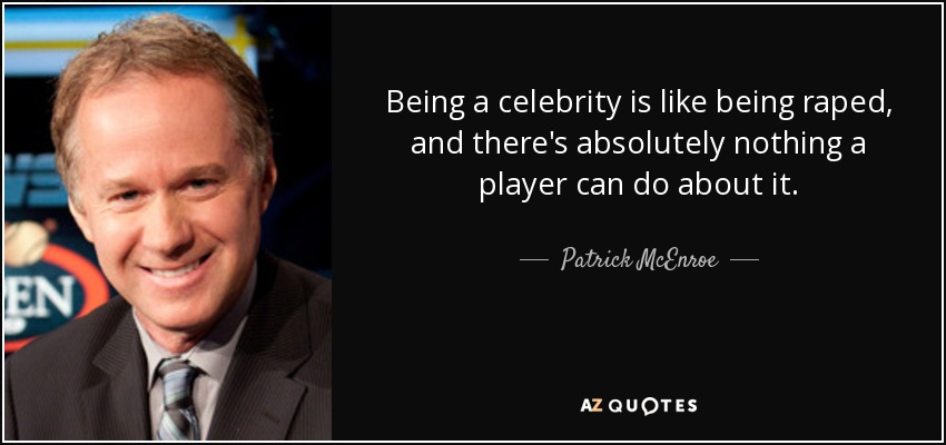 """being a celebrity 52 comments to """"the perks of being famous"""" and then the cop took it upon himself to make a big deal of their celebrity, and thus the story."""
