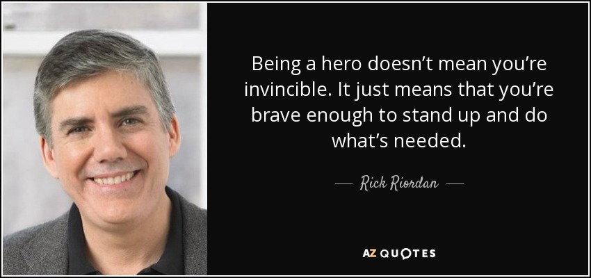 Top 25 Quotes By Rick Riordan Of 1580 A Z Quotes