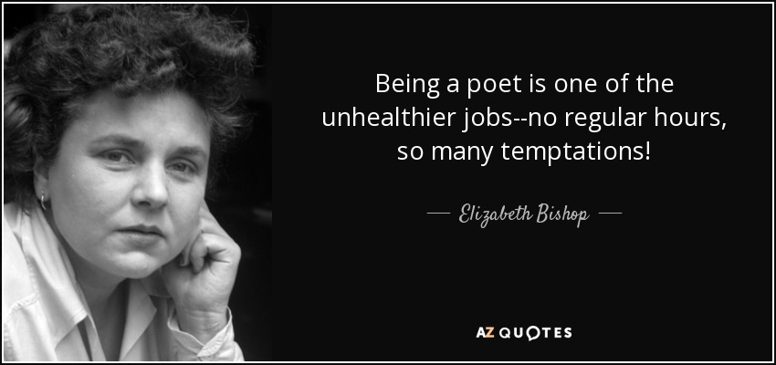 sandpiper elizabeth bishop The elizabeth bishop: poems community note includes chapter-by-chapter summary and analysis, character list, theme list, historical context, author biography and quizzes written by community members like you.